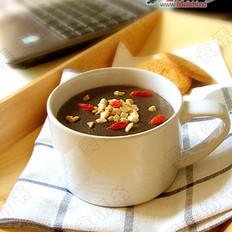 黑芝麻糊(附送水果红茶)
