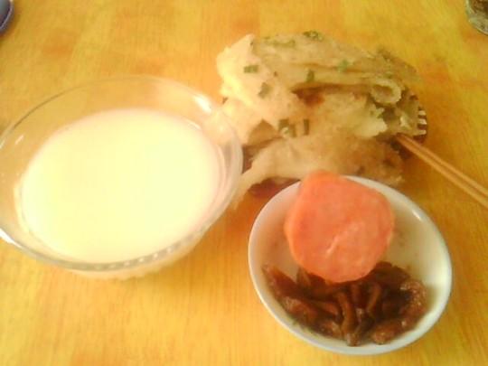 丰富的中式早餐,就是这么简单