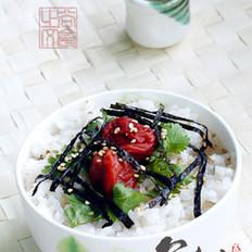 梅干茶泡饭的做法