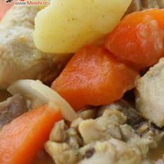 咖喱土豆炖鸡 的做法