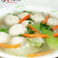 丝瓜肉丸汤的做法