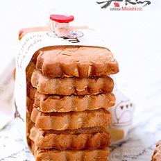 杏仁巧克力酱饼干的做法
