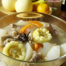 蔬菜牛腩湯的做法