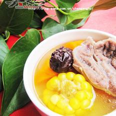 粟米牛蹍湯的做法