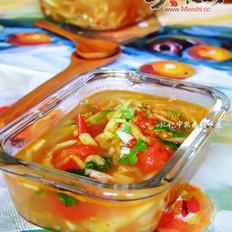 茄子西红柿汤的做法