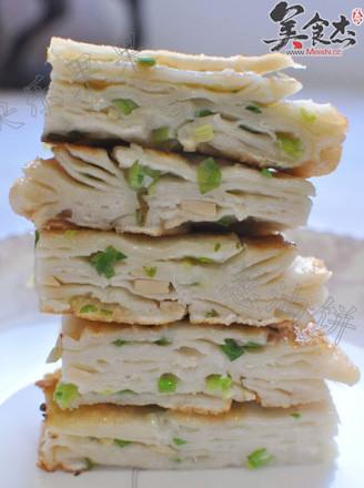 美味葱油饼的做法