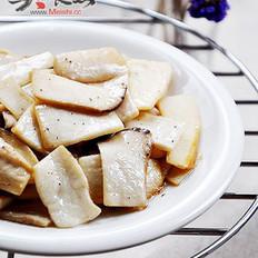 黑椒油煎杏鮑菇的做法