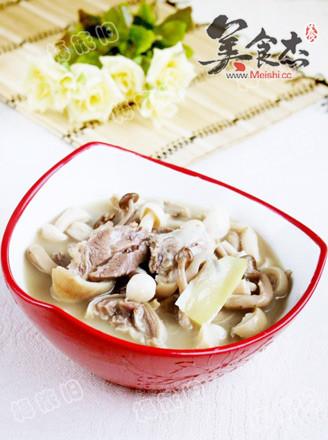 双菇羊肉煲的做法