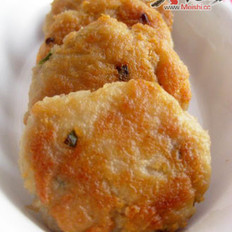 莲藕蒸肉饼+香煎藕饼的做法