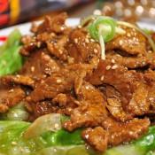 黑椒牛肉西生菜