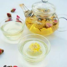 菊花玫瑰茶