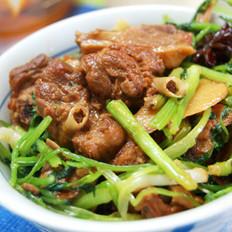 香菜陈皮鸭