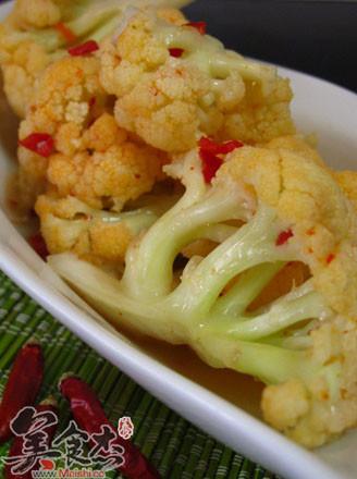 韩国花椰菜辣泡菜的做法
