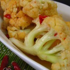 韩国花椰菜辣泡菜