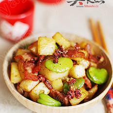椒香培根土豆丁
