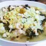 酸菜鸡肉豆腐