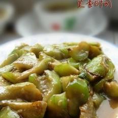 鸡汤烩丝瓜