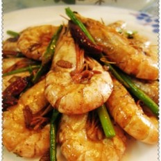 辣味干煸虾