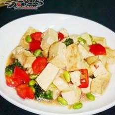 味噌烧豆腐的做法