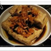 盖浇煎豆腐的做法