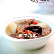 紅棗山藥排骨湯的做法