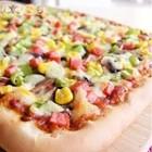 火腿鲜菇披萨