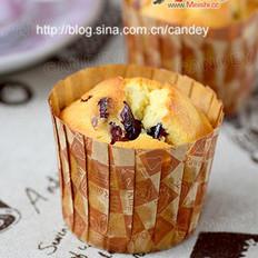 蔓越莓奶油小蛋糕
