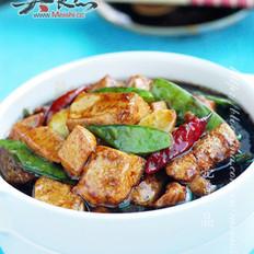 红烧豆腐鸡丁的做法