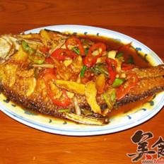 红烧扁鱼的做法