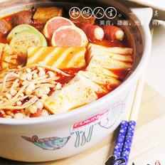 辣白菜锅的做法