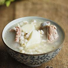 山药薏米排骨汤