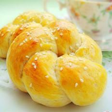 花式鲜奶油面包