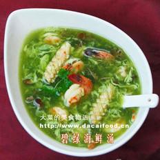 碧绿菠菜汤的做法