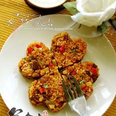韩式泡菜牛肉炒饭的做法