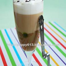 咖啡牛奶冻