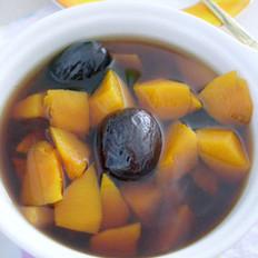 蜜枣红糖南瓜汤