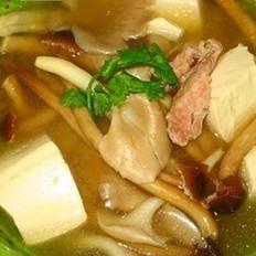 豆腐杂菇大酱汤的做法