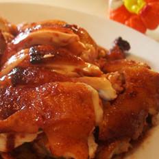 南乳烤鸡的做法
