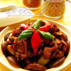 干锅香菇鸭