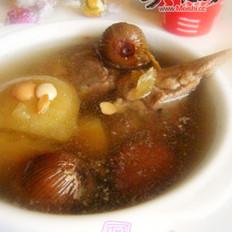 南北杏蜜枣苹果汤