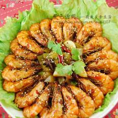 吮指圆满香辣盘盘虾的做法