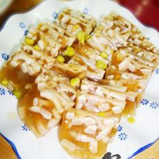 豌豆肉皮冻的做法