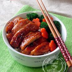 日式照烧鸡腿饭