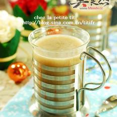 五谷米蜂蜜饮的做法