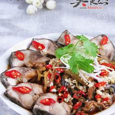茄香炝锅鱼的做法