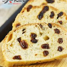 燕麦葡萄干汤种面包