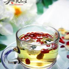 清肝明目枸杞茶的做法