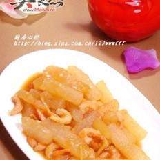 海米燒冬瓜的做法