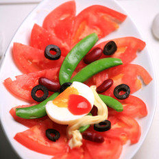 西红柿甜蜜腰豆沙拉的做法