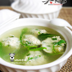 鲅鱼丸汤的做法